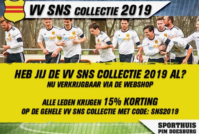 korting VVSNS collectie!!!